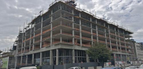 One On Whiteley construction image